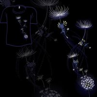 Woot Shirt - Dandelions by fablefire