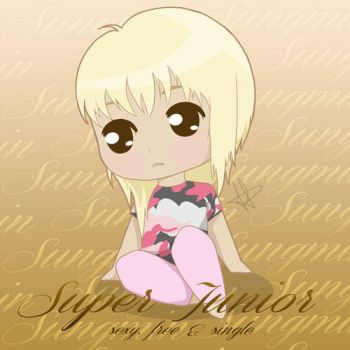Super Junior Sexy Free Single SUNGMIN by anime234dotcom