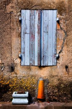 Blue Shutters by Phil-Norton