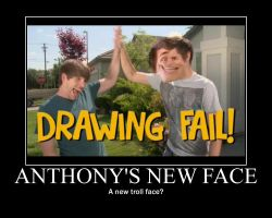 Anthonys New Face by htfman114