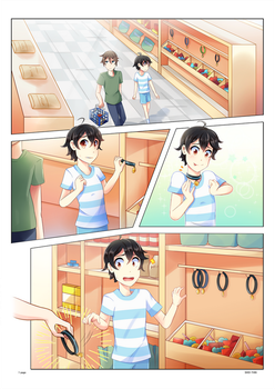 The Pet Aisle Manga Commission by Sho-tan-ART