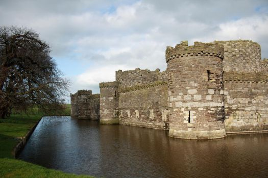 SMD Free Texture 25: Castle and Moat by Spicy-Monster