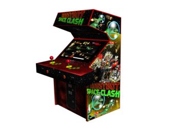 CoinUp Arcade RobSYBot Space Clash by Evilspout
