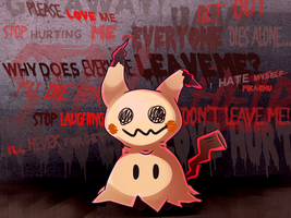 Please Love Mimikyu by Goddess-of-Gales