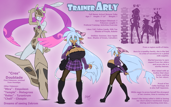Trainer Arly by Arlyurl
