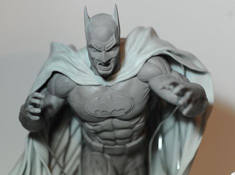 Batman WIP by seankylestudios