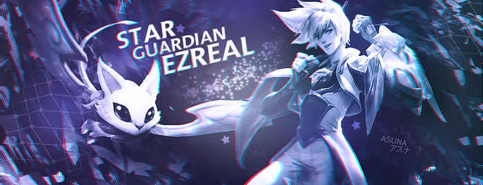 Star Guardian Ezreal by Asunaw