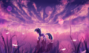MLP twlight sparkle by AquaGalaxy