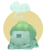 Bulbasaur by pompon-chan