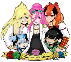 [MSnD] MOMMA'S BOYS by SoloAzume