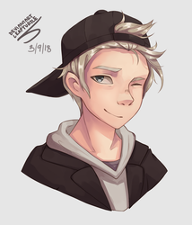 Commission - Eun-Oppa by leafturtle