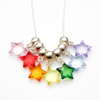 Rainbow Stars necklace by FrozenNote