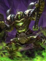 SMITE - Xing Tian TierMonster by ChrisBjors