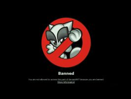 You Banned Wallpaper 2 by DKSTUDIOS05