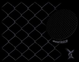 Metal Fence texture -tiled by JayL-stock