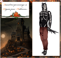 CR ~ Tenue Halloween de Thanatos by Kimkim-A