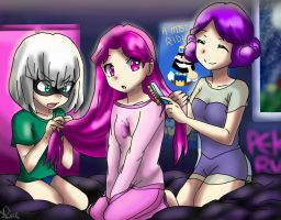 PJ Party!! by Aligamer005