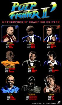Pulp Fighter II: Motherfuckin' Champion Edition by FilippoMorini