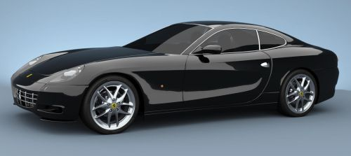 ferrari 612_black by kellyq1234