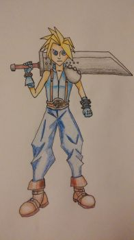 Cloud from Final Fantasy 7 by ProzacMan