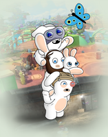 Tiny Rabbids by GarfieldXRabbid