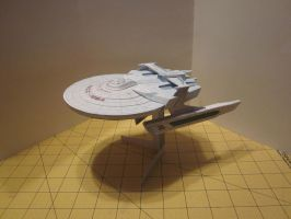 Papercraft USS Reliant 2 by enc86