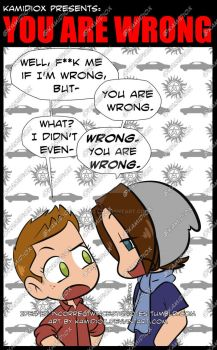 You are wrong by KamiDiox