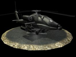 Apache Helicopter by triller14