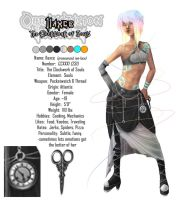 Ilaxce Character Sheet by RedShiftM
