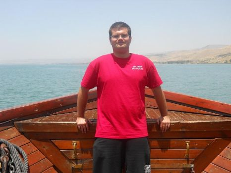 Sailing on the Sea of Galilee by Gintoki92