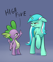 Hey Lyra by Underpable