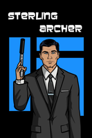 Archer iPhone Wallpaper by Mikeyj110