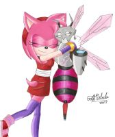 Amy and Bea by GothNebula