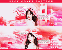 PACK COVER TAEYEON by yunniejacksonyi