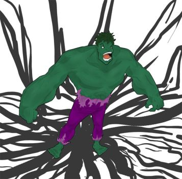 Hulk-HULK by DemonSabin