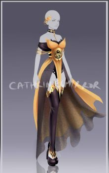 (OPEN) Adopt auction - Outfit 62 by cathrine6mirror