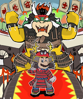 Super Mario Odyssey - Bowser's Kingdom (Spoiler?) by RamyunKing