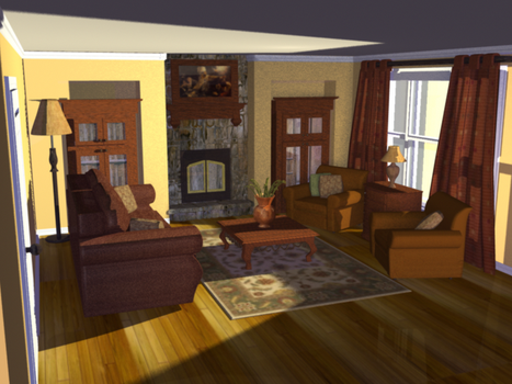 3D Room Assignment by gabugurl