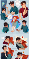 Harry/Ginny by Natello