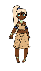 Gacha Result 'Tribal' by Blithe-Adopts