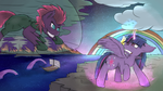 Purplesmart and Tempest Edgy by Ruby-Dusk