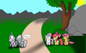 REQUEST: Diamond and Silver teasing the CMC by iDeltaVelocity