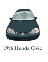 1996 Honda Civic by TomIannucci