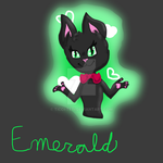 Emerald Commission for dragonfrootii by Ticci-Teti