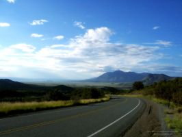 Road to New Mexico by Sunira