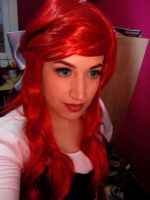 Ariel, the Little Mermaid selfie by NevanRhaegar