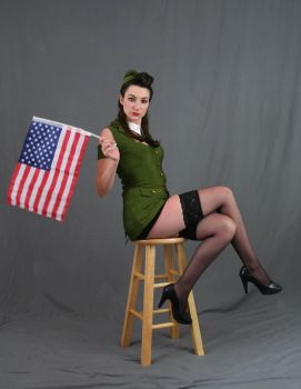 USO pinup 28 by MajesticStock