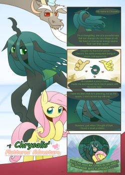 Chrysalis's fluttered adventure p1 by HowXu