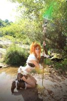 cosplay nidalee from league of legends 1 by Lucy-Dark-Dreams