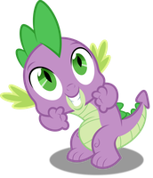 Vector #461 - Spike #16 by DashieSparkle